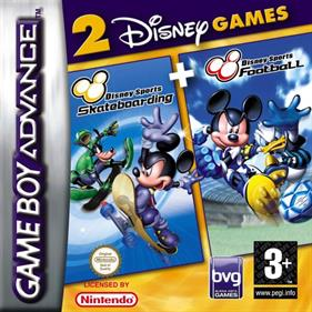 2 Disney Games: Disney Sports: Football & Disney Sports: Skateboarding