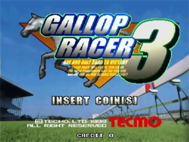 Gallop Racer 3 - Screenshot - Game Title