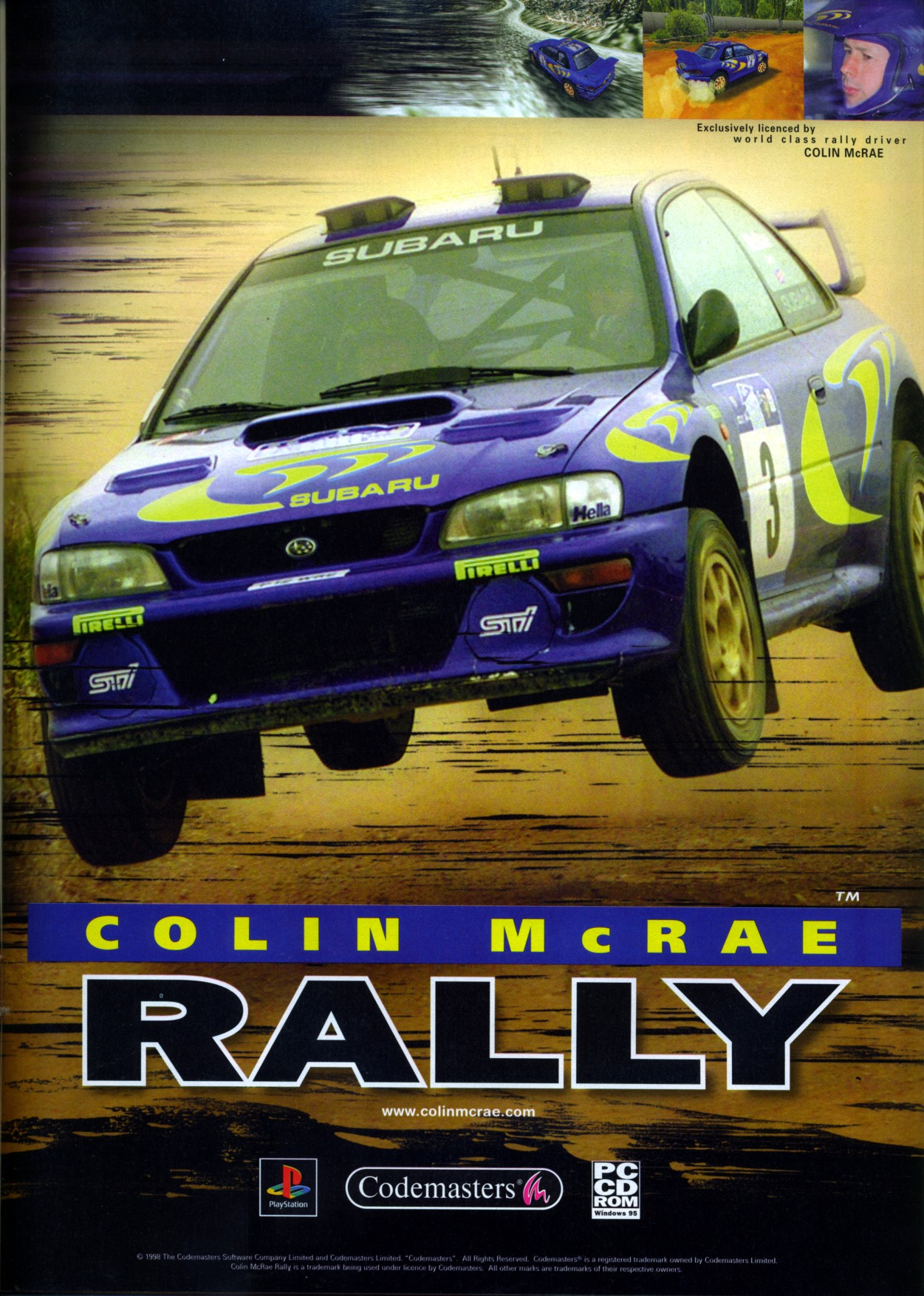 Colin McRae Rally Details LaunchBox Games Database