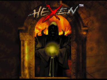 Hexen - Screenshot - Game Title