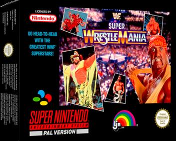 WWF Super WrestleMania - Box - 3D