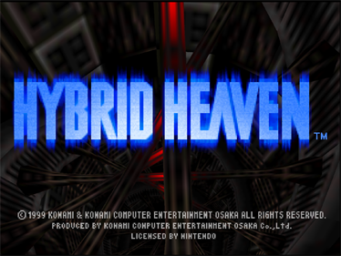 Hybrid Heaven - Screenshot - Game Title
