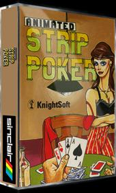 Animated Strip Poker  - Box - 3D