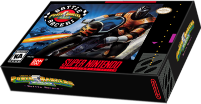 Power Rangers Zeo: Battle Racers - Box - 3D