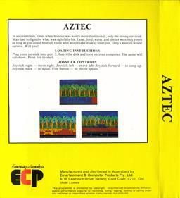 Aztex - Box - Back