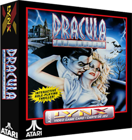 Dracula: The Undead - Box - 3D