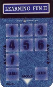 Learning Fun II - Arcade - Controls Information