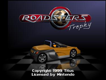 Roadsters - Screenshot - Game Title