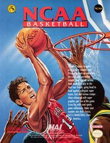 NCAA Basketball - Advertisement Flyer - Front