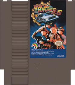 Back to the Future Part II & III - Cart - Front