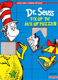 Dr. Seuss: Fix-Up the Mix-Up Puzzler