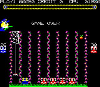 4 En Raya - Screenshot - Game Over