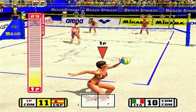 Beach Spikers - Screenshot - Gameplay