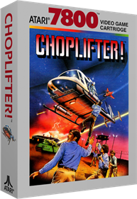 Choplifter! - Box - 3D