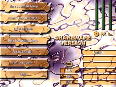 A.R.S.E.N.A.L Taste the Power - Screenshot - Game Select