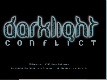 Darklight Conflict - Screenshot - Game Title