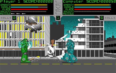 Metal: A Robot Combat Simulation - Screenshot - Gameplay
