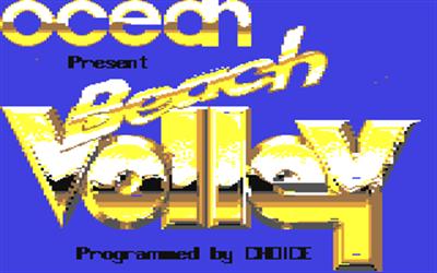 Beach Volley - Screenshot - Game Title