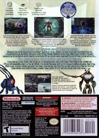 Metroid Prime 2: Echoes - Box - Back