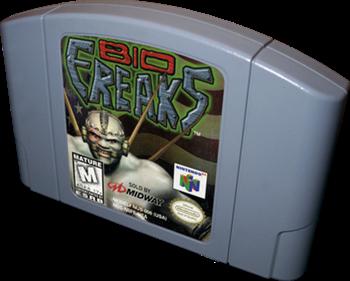 Bio F.R.E.A.K.S. - Cart - 3D