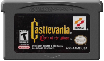 Castlevania: Circle of the Moon - Cart - Front