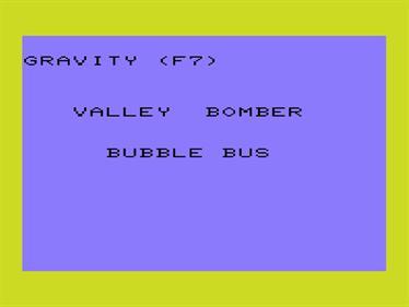 Bomber - Screenshot - Game Title