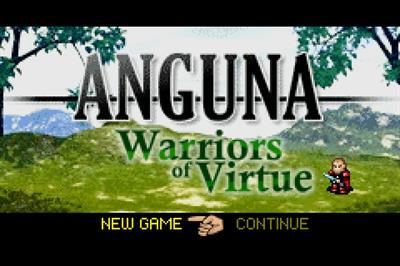 Anguna: Warriors of Virtue - Screenshot - Game Title