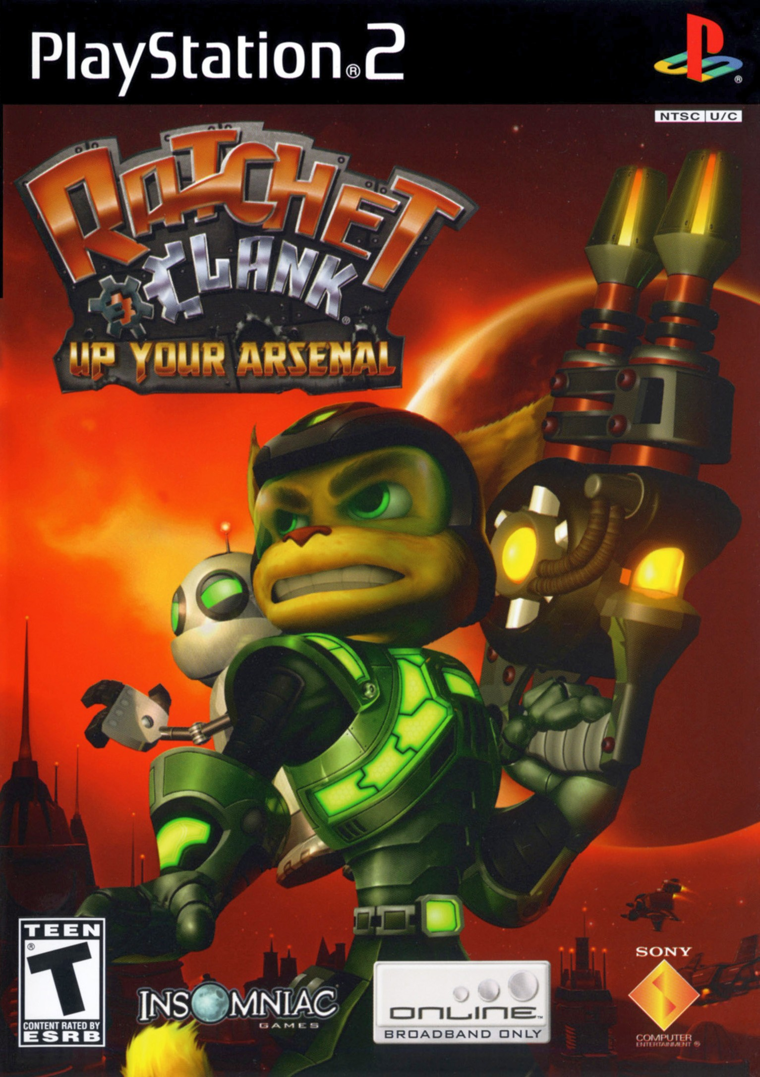 Ratchet Clank Up Your Arsenal Details Launchbox Games Database