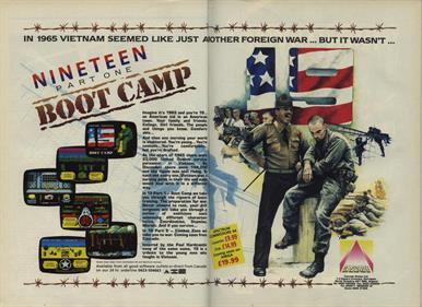 19 Part One: Boot Camp - Advertisement Flyer - Front