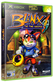 Blinx: The Time Sweeper - Box - 3D