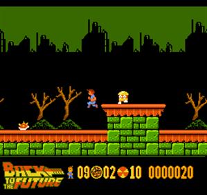 Back to the Future Part II & III - Screenshot - Gameplay