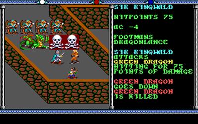 Champions of Krynn - Screenshot - Gameplay
