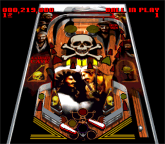 Super Pinball: Behind the Mask - Screenshot - Gameplay