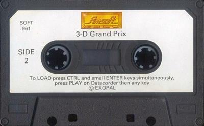 3D Grand Prix - Cart - Back