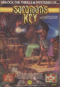 Solomon's Key - Advertisement Flyer - Front