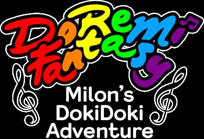DoReMi Fantasy: Milon no DokiDoki Daibouken - Clear Logo