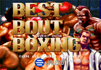 Best Bout Boxing - Screenshot - Game Title