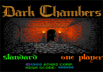 Dark Chambers - Screenshot - Game Title