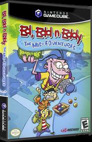 Ed, Edd n Eddy: The Mis-Edventures - Box - 3D