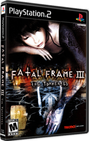 Fatal Frame III: The Tormented - Box - 3D