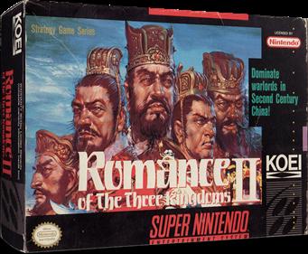 Romance of the Three Kingdoms II - Box - 3D