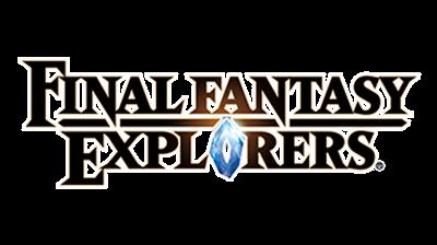 Final Fantasy: Explorers - Clear Logo