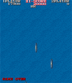 1943: The Battle of Midway - Screenshot - Game Over