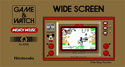 Mickey Mouse (Wide Screen)