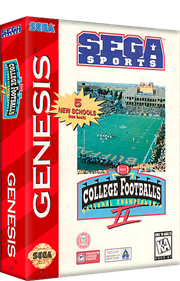 College Football's National Championship II - Box - 3D