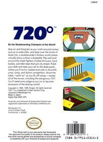 720° - Box - Back