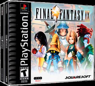 Final Fantasy IX - Box - 3D