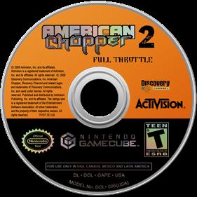 American Chopper 2: Full Throttle - Disc