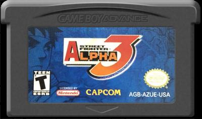 Street Fighter Alpha 3 - Cart - Front