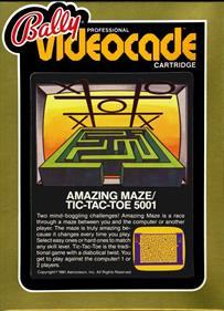 Amazing Maze + Tic-Tac-Toe